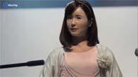 Toshiba trình diễn robot giống người thật Chihira Aico