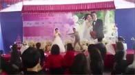 Đám cưới có 1 không 2: Cô dâu chú rể nhảy zumba cực chất