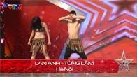 Vietnam's Got Talent 2014 - Cô giáo mầm non nhảy HipHop - Lan Anh & Tùng Lâm