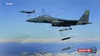 Mỹ ào ạt oanh kích phiến quân IS ở Syria