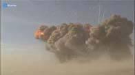 100 tấn thuốc nổ khi phát nổ sẽ như thế này