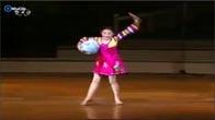 Cô bé Triều Tiên múa quá đỉnh