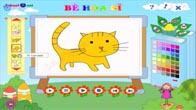 Vẽ con mèo, con chó