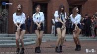 Nhóm EXID Hàn Quốc nhảy sexy ngoài trời