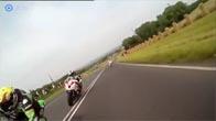 Mãn nhãn với màn thể hiện tốc độ của các tay đua môtô