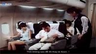 Lột quần áo tiếp viên hàng không