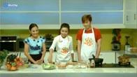 Cách làm món trứng cuộn ngũ sắc