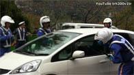 Cảnh sát Nhật Bản xử lý đối tượng cố thủ trong xe