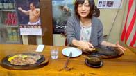 Thánh ăn Yuka Kinoshita ăn hết 1.5kg bò bít tết và 1.4kg cơm một lúc