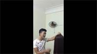 Thanh niên cứng dạy vợ vì tội đi theo zai =))