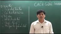 Luyện thi đại học cấp tốc môn Hóa học 2015