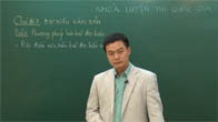 Luyện thi THPT quốc gia PEN-M môn Ngữ văn - Thầy Phạm Hữu Cường