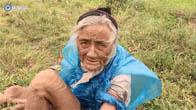 Cụ bà 90 tuổi mùa đông chỉ có tấm áo rách mặc