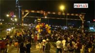 Ngàn người xuống phố đón năm mới 2016 tại TP. Hồ Chí Minh