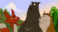 Quà Tặng Cuộc Sống - Sói, Gấu Và Cáo