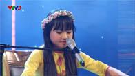 Vietnam's Got Talent 2016 - Bán Kết 3 - Ai Ra Xứ Huế - Bé Quỳnh Anh