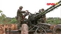 Máy bay, xe tăng quân đội Việt Nam tập trận bắn đạn thật