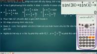 Giải toán lượng giác bằng máy tính Casio