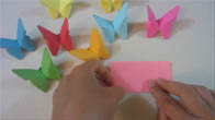 Cách gấp con bướm giấy origami