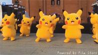Pikachu nhảy trên nền nhạc cực kích thích