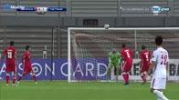Toàn cảnh trận thắng 1-0 trước U19 Bahrain của đội tuyển U19 Việt Nam
