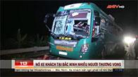 Nổ xe khách tại Bắc Ninh nhiều người thương vong