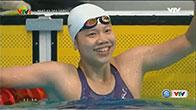 Ánh Viên lập cú đúp Vàng tại SEA Games 29 chỉ trong 15 phút