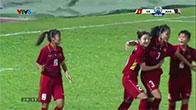 Bóng đá nữ Việt Nam hạ gục Malaysia 6 - 0 giành HCV SEA Games 29