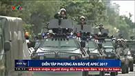 Lực lượng đặc nhiệm ra quân bảo vệ Hội nghị APEC 2017