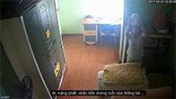 Thuê người giúp việc được vài ngày, chủ nhà lắp camera phát hiện sự thật đau lòng