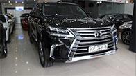 Khám phá chuyên cơ mặt đất Lexus LX570 nhập Mỹ cũ bán lại giá 7.3 tỷ đồng