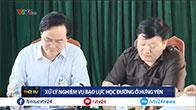 Bộ trưởng Phùng Xuân Nhạ đề nghị xem xét cho thôi Ban giám hiệu vụ nữ sinh bị đánh