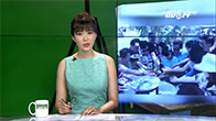 Khách Trung Quốc tranh nhau vơ vét hoa quả ở Việt Nam